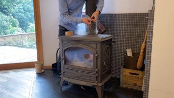 【薪ストーブの煙突掃除をやってみる】家づくりその後(日高市)の画像