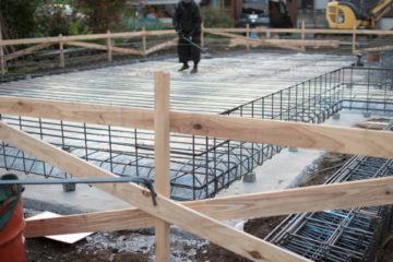 【新築一戸建て 工事の始まり】埼玉の設計事務所の家づくりの画像