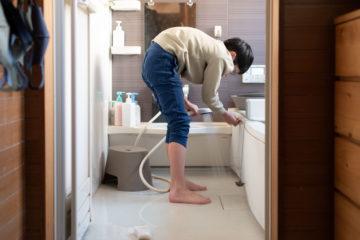 2020年 年末 家の大掃除の画像