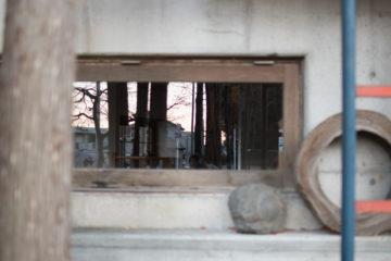 「ガラスの掃除を窓を眺める」設計事務所の環境(入間市)の画像