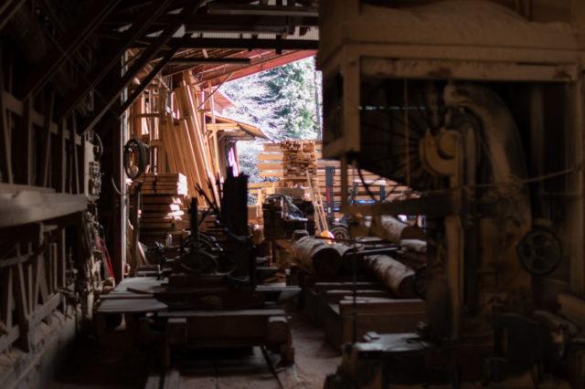 「西川材」の製材所&ショールーム(飯能市吾野)を見学しましたの画像