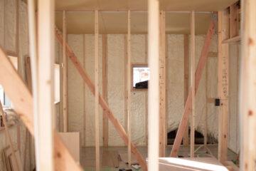 【飯能市の住宅設計】家の断熱材(アクアフォーム)の画像