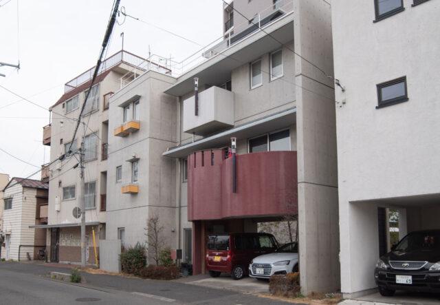 3階建てコンクリート打ち放しの家(3F+B1) 川口市の画像