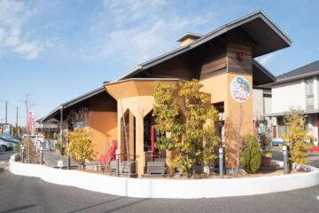 埼玉県三郷市の住宅展示場(三郷ハウジングステージ)のセンターハウス(管理棟)の画像