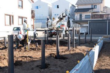 【住宅新築のための地盤改良工事】(埼玉県入間市)の画像