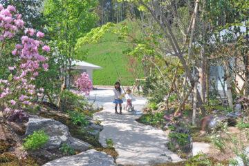 思い出の春の庭(太宰府)設計事務所の家づくりの画像