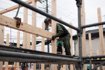 入間市野田で新築住宅の上棟がありました(設計事務所の現場監理)の画像