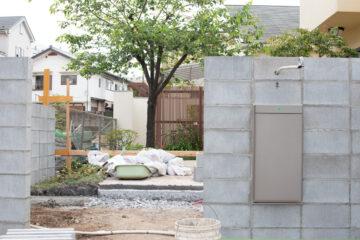 住宅のアプローチを作り直す(狭山市)の画像