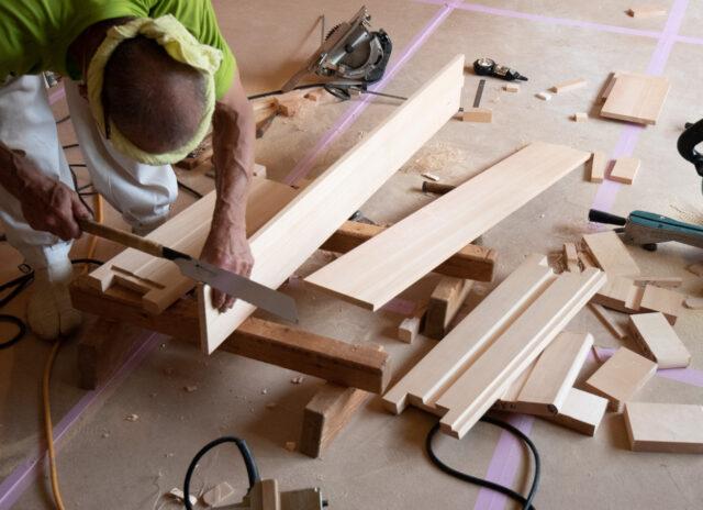 【設計事務所の家づくり】手間の集積・無垢材の造作の画像