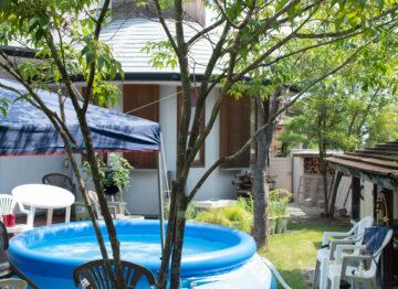 【庭のプール】家づくりその後の画像