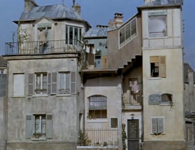 ジャックタチ「ぼくの叔父さん(1958)」の家(アパート)の画像
