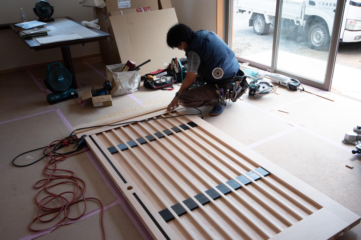 木製建具製作、入間市
