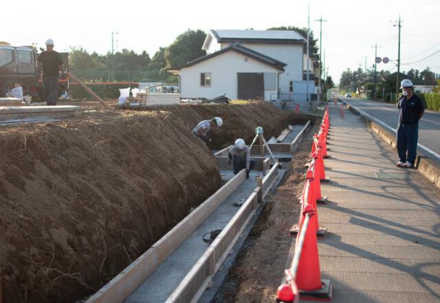 東松山市の木造新築 デイサービス施設の工事が始まりましたの画像