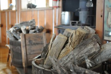 薪ストーブの冬じまいの画像