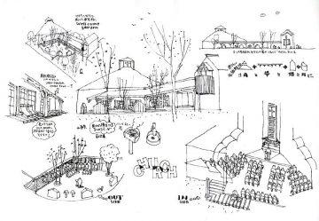 杉の教会 バブテスト川越教会の画像