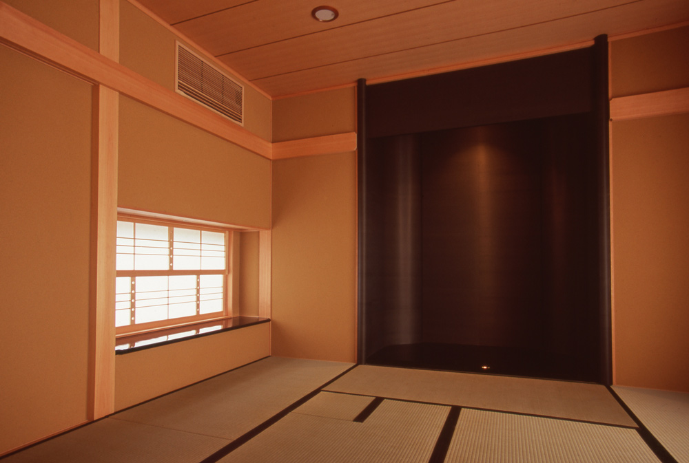 茶室のある家 独楽蔵 東京