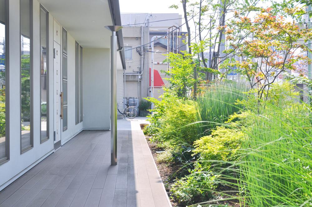 ガーデンデザイン 小室クリニック 飯能市