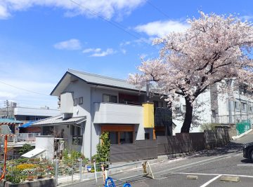 【街中の暮らし 桜と共に (2017 春)】入間市の設計事務所の住宅設計の画像